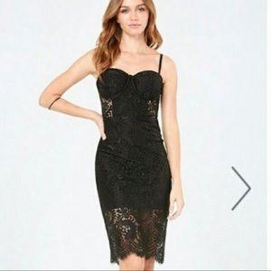 Bebe bustier dress